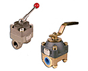 Shear-Seal Manual Shut-Off Valve