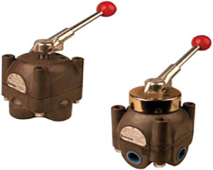 Shear-Seal Manual Control Valve