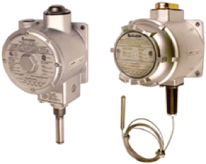 Barksdale Explosion Proof Temperature Switch