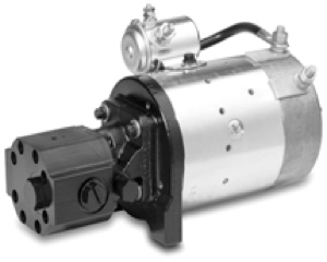 Concentric 12V DC Motor/Pump - Auxiliary Unit